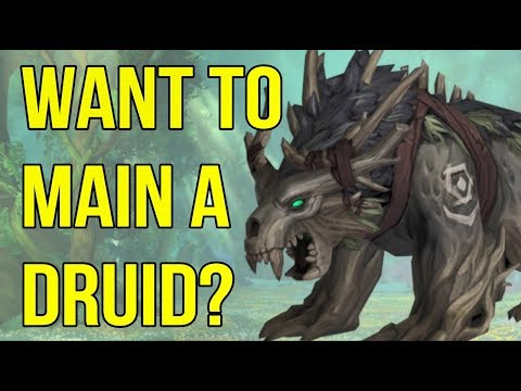 Druids Explained – 3 Features To Consider Before Playing One (2018)   WoW BfA   Class Guide