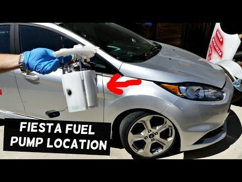 WHERE IS THE FUEL PUMP LOCATED ON FORD FIESTA ST FOCUS ST