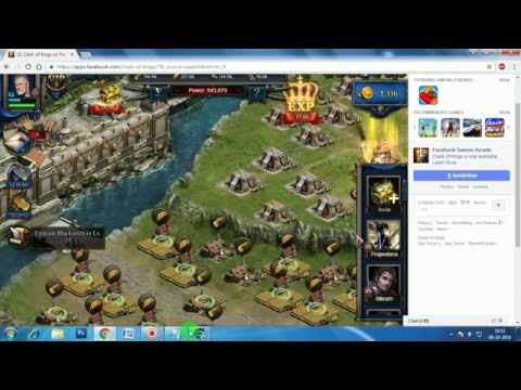 clash of kings unlimited gold