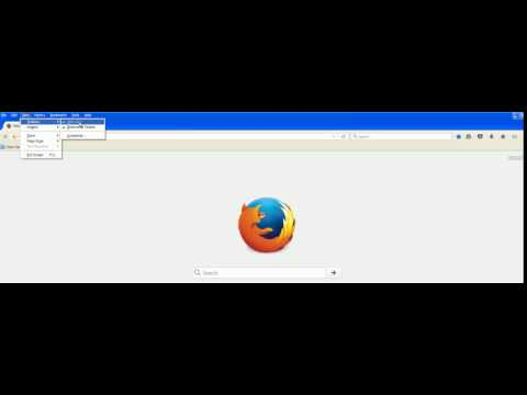 How To Remove Menu Bar in Mozilla Firefox Browser