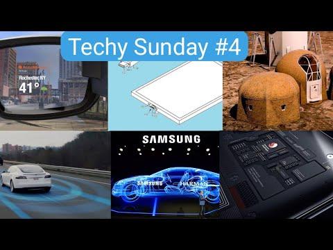 Techy Sunday #4   Xiaomi 9, Vuzix Smart Glass, Mars Resident, Samsung Driverless Cars, etc.