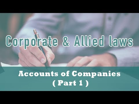 Accounts of Companies ( Part 1 ) | Section 2(40) | Section 128