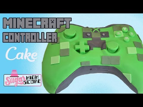 How To Make a MINECRAFT XBOX Controller CAKE