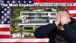 British Guy Reacting to The 10 Most Expensive Homes in The USA