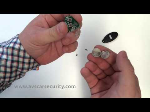 Standard AVS remote battery change