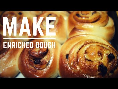 How to Make an Enriched Dough with a KitchenAid (Hot Cross Buns)