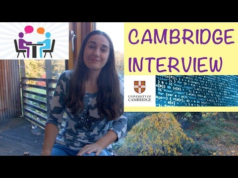 My Cambridge Interview | Advice | Computer Science