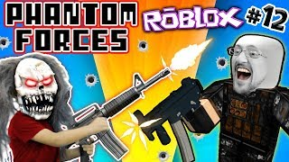 ROBLOX #12! KILLER CLOWN vs. FGTEEV CLONES! PHANTOM FORCES FPS Game Heaven / PIXEL GUN Competition