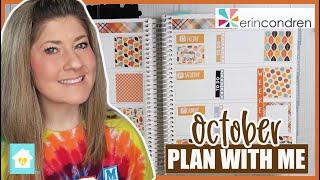 OCTOBER WEEKLY PLAN WITH ME | ERIN CONDREN LIFEPLANNER 2020