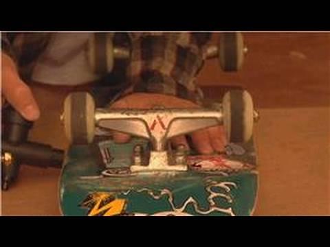 Skateboard Maintenance : How to Tighten Trucks on a Skateboard