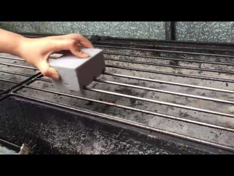 grill stone, grill cleaner, grill cleaning stone