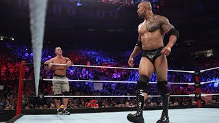 WWE Marquee Matches: The Rock & John Cena look to put aside their differences in tag team action
