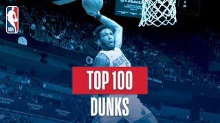 NBA's Top 100 Dunks   2018-19 NBA Season   #NBADunkWeek