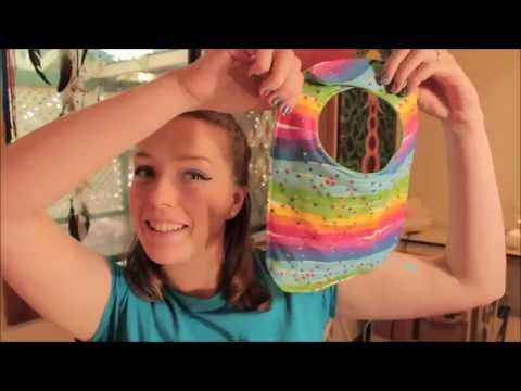 How to Sew / Make a Baby Bib | FREE Pattern Easy Beginners Sewing Tutorial | Twizzlez