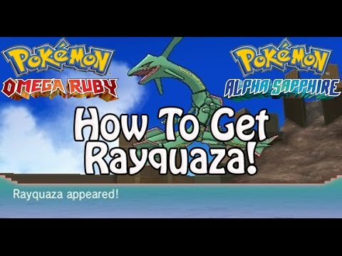 Pokémon Omega Ruby and Alpha Sapphire | How To Get Rayquaza! (Sky Pillar/Delta Episode)
