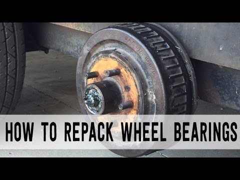 How to Repack Trailer Wheel Bearings [Start to Finish]