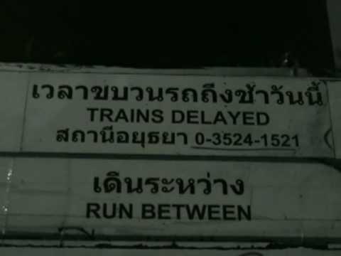Ayutthaya to Chiang Mai by train