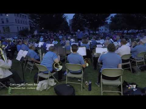 CORTLAND OLD TIMERS BAND PLAYS