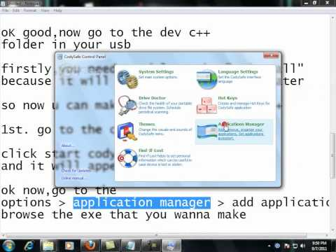 How to make portable software