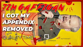"""""""I Had To Have My Appendix Removed"""" - Jim Gaffigan Stand up (Quality Time)"""