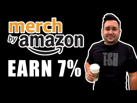How to earn extra money with Amazon Affiliate Links with Merch by Amazon sales.