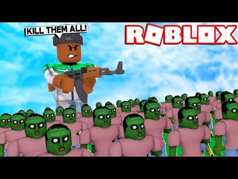 MAKING MY OWN ZOMBIE ARMY!! | Roblox Infection Inc.