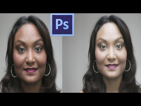 How to quickly improve a photo in photoshop