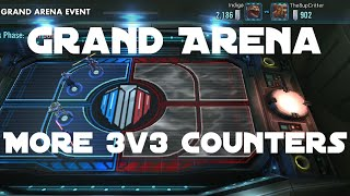 Grand Arena 5v5 Round 3 || Star Wars: Galaxy of Heroes