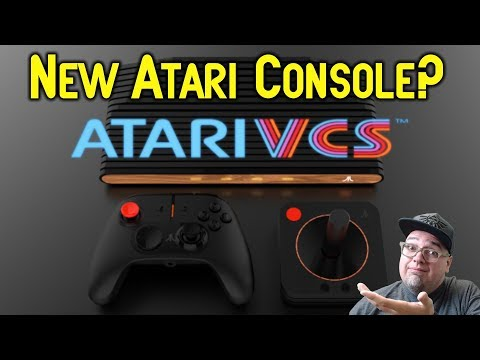 NEW Atari Console The VCS - What Is This?