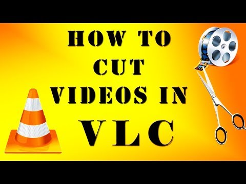 how to cut video and audio  in vlc media player 2018 new 100%
