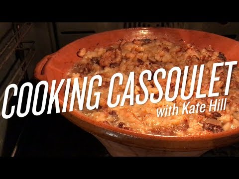 Cooking Cassoulet in Gascony