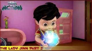 Vir : The Robot Boy | The Lady Jinn Part 2 | 3D Action shows for kids | WowKidz Action