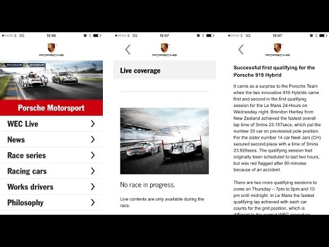 Best Le Mans 24 Hours Apps for iPhone and iPad