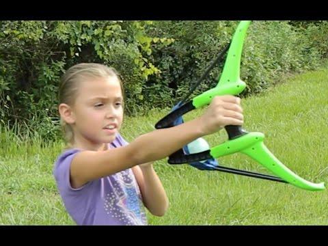Aqua Bow Water Balloon Launcher Kaos Toy Review
