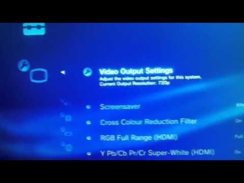 Ps3 HDMI 1080p Problem