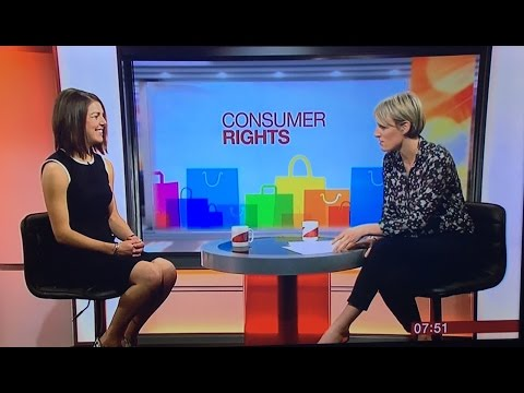 Hannah chats to BBC Breakfast about your consumer rights