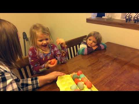 Sisters find out they're finally having a baby brother thanks to egg roulette