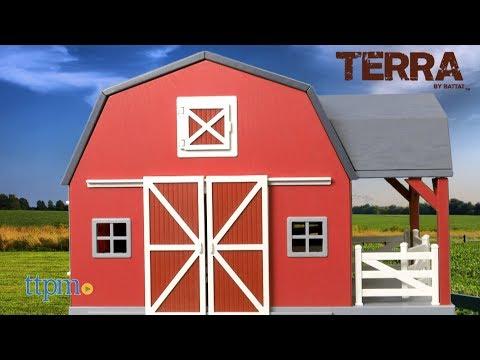 Terra Wooden Barn from Battat