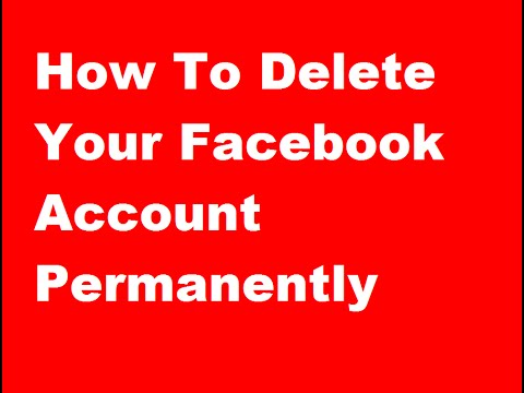 How To Delete Your Facebook Account Permanently In Telugu