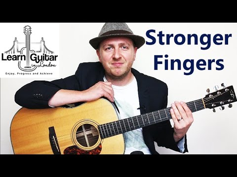 Guitar Hand Strength Exercises - Guitar Tutorial - 3 Tips To Build Fretting Hand Muscles