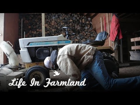 Fixing The Steering On 70s Ih Cub Cadet   Vlog