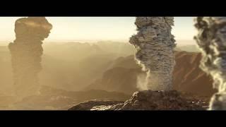 SuperVolcano CGI - Volcano Simulation - Large smoke simulation - volcano video
