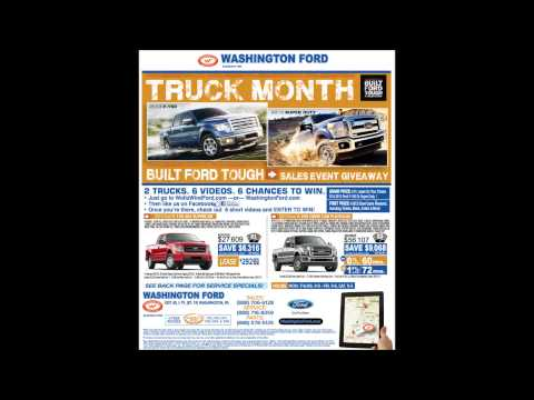 Washington Ford Built Ford Tough Event Giveaway