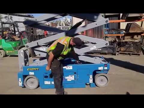 How To Operate A Genie Scissor Lift