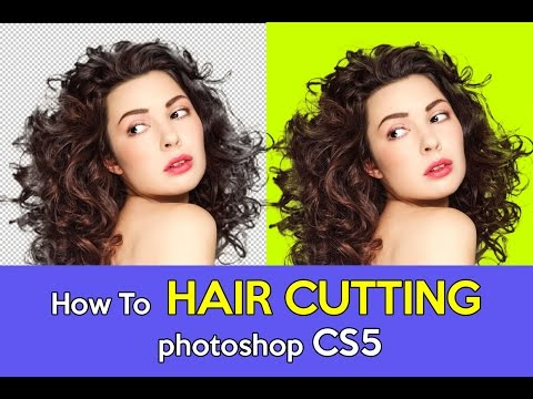 How To Hair cutting in photoshop   Part 9 Photoshop Tutorial in Tamil