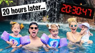 Download LAST TO LEAVE THE POOL WINS $10,000 (24 HOUR CHALLENGE) Video