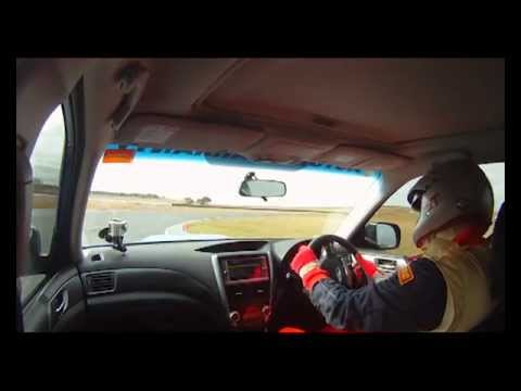 Subaru Forester S track test Wakefield MRT Performance