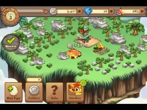 Tiny monster iPhone gameplay