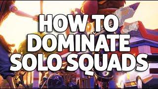 Dominating Solo Squads! Fortnite Gameplay - Ninja
