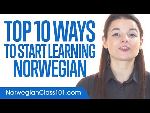 Top 10 Ways to Start Learning Norwegian